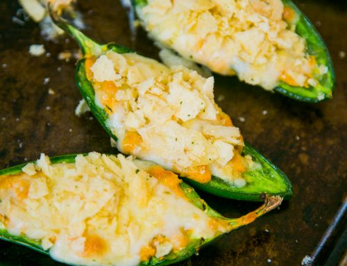 Jalapeños Stuffed with Spicy Scallion Cream Cheese