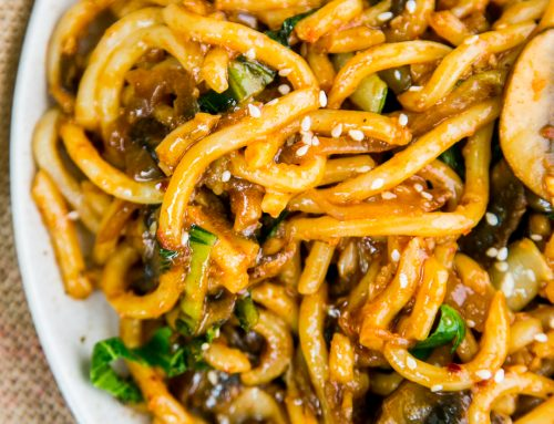 Sweet & Spicy Udon Noodles