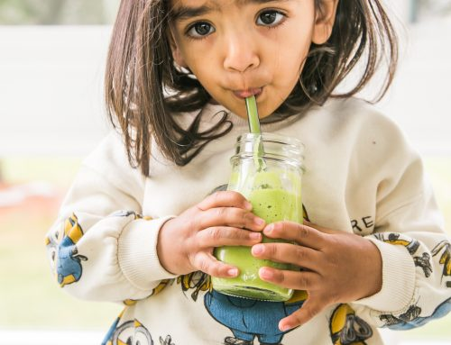 Shaan's Spinach, Mango & Avocado Smoothie