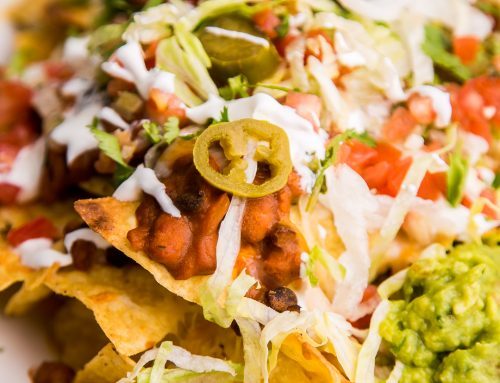 Loaded Nachos with Campbell's® Tomato Soup