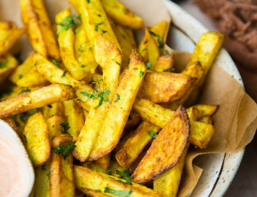 Air Fryer Masala Fries